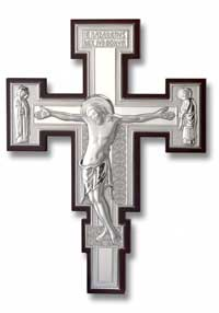 Silver Plated Crucifixes