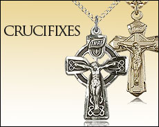Crucifix Necklaces & Pendants