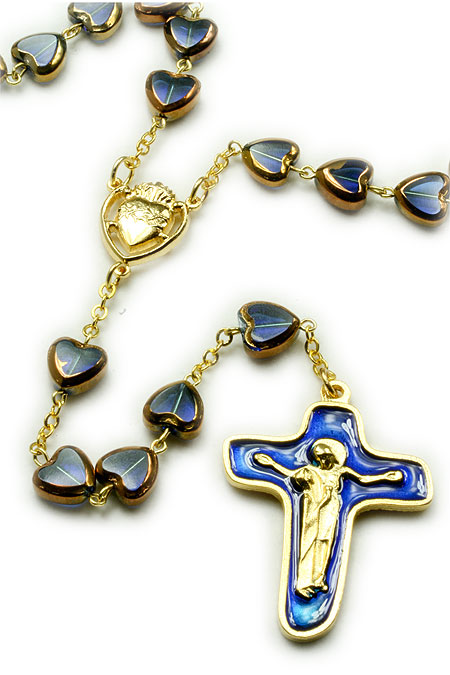 Heart Rosaries