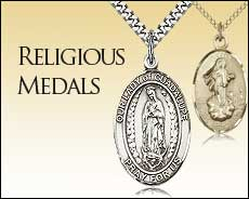 Pewter Religious Jewelry