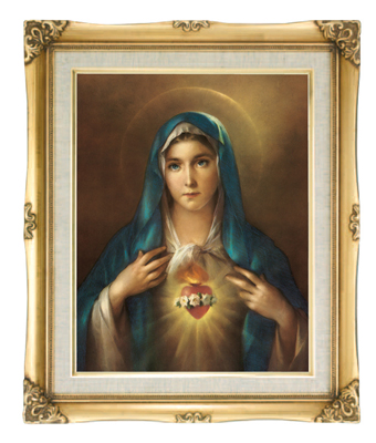 Sacred Heart of Mary Pictures