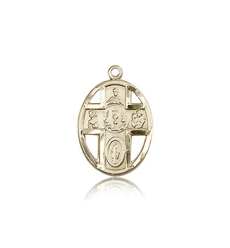 14kt Gold 5-Way//Chalice Medal