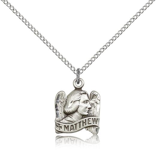 Sterling Silver St Fiacre Pendant 24 Chain