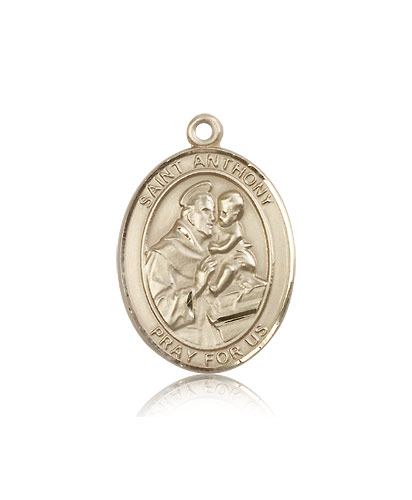 14k yellow gold st anthony of padua medal pendant 7004kt 14k yellow gold st anthony of padua medal pendant 7004kt rosarycard aloadofball Images