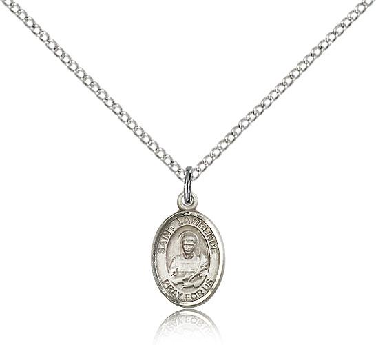 Athanasius Medal Patron Saint 1//2 x 1//4 14kt Gold St