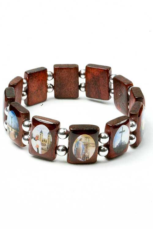 Hf A285 Religious Saints Bracelet
