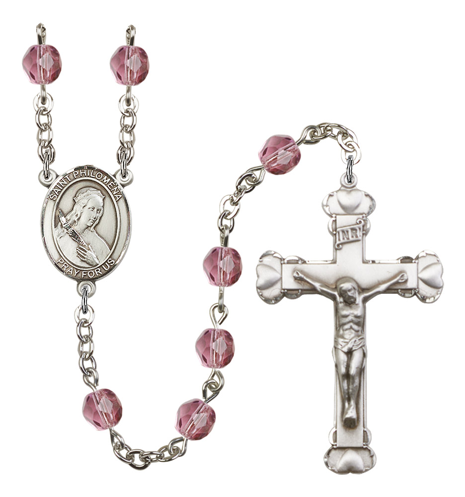 Saint Philomena Catholic Rosary Beads