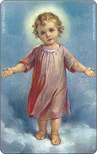 02 Baby Christening Favor Rosary Card