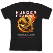 Hunger For God Christian T-Shirt APT1312SM