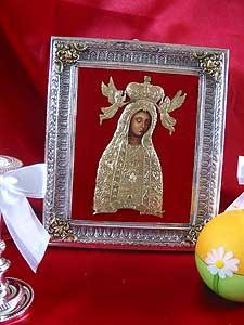 Lichen Virgin Silver Icon