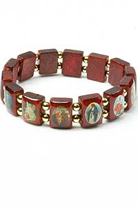 Hf A268 Religious Saints Bracelet