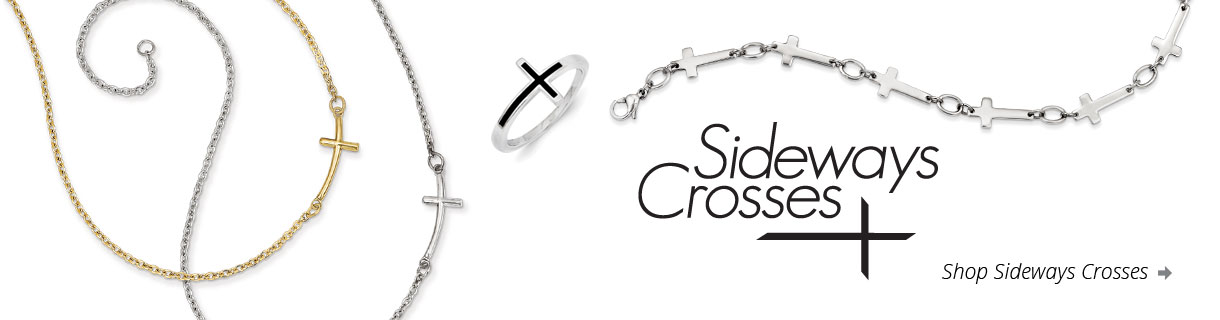 Side Cross Jewelry at Rosarycard.net