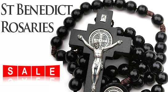For Religious Jewelry Saint Benedict Rosaries