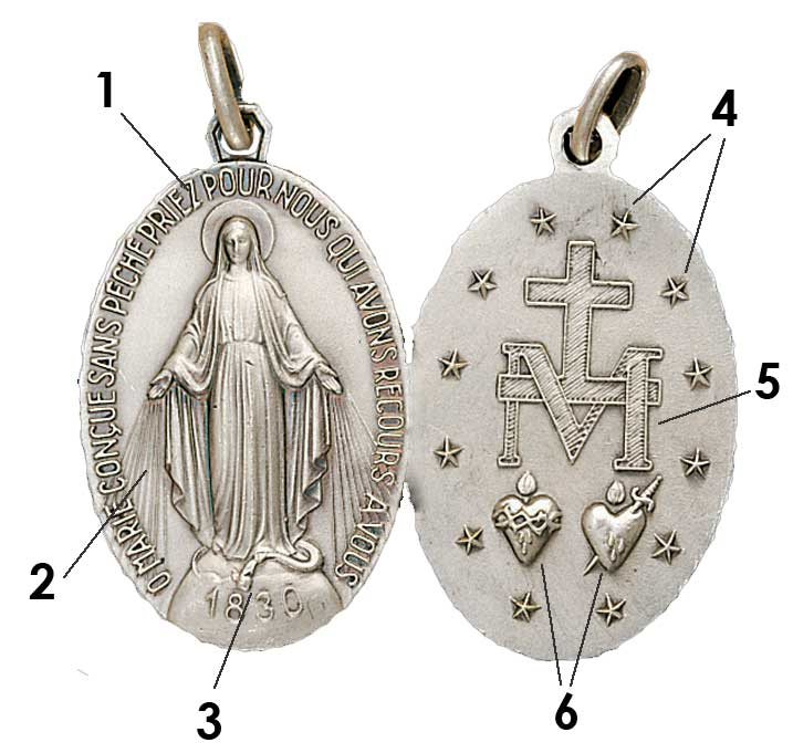 Miraculous Medal Symbolism & Meaning
